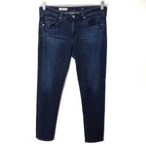 AG The Stevie Slim Straight Ankle Jeans